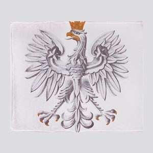 Poland Coat of arms Throw Blanket