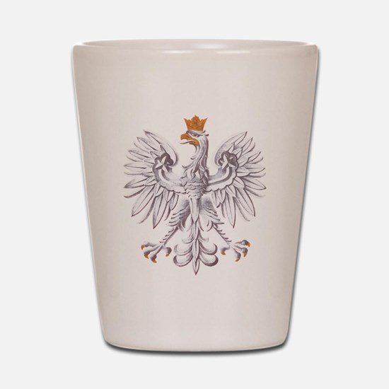 Poland Coat of arms Shot Glass