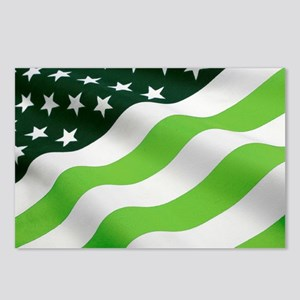 Green flag (ecology) Postcards (Package of 8)