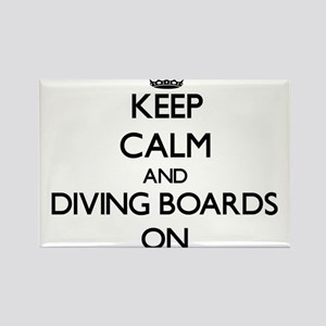 Keep Calm and Diving Boards ON Magnets
