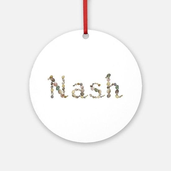 Nash Seashells Round Ornament