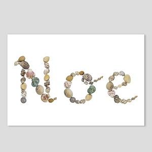 Noe Seashells Postcards 8 Pack