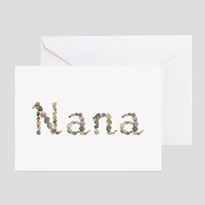 Nana Seashells Greeting Card