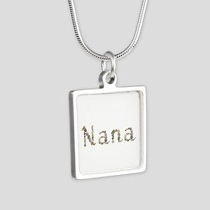 Nana Seashells Silver Square Necklace