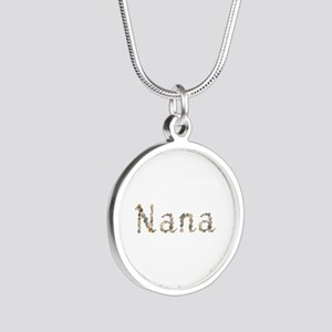 Nana Seashells Silver Round Necklace