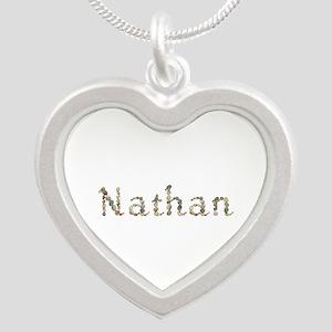 Nathan Seashells Silver Heart Necklace