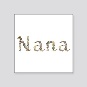 Nana Seashells Square Sticker
