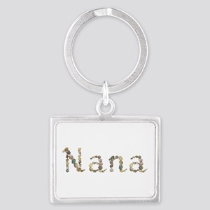 Nana Seashells Landscape Keychain