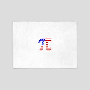 American Pi 5'x7'Area Rug