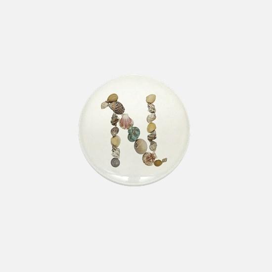 N Seashells Mini Button