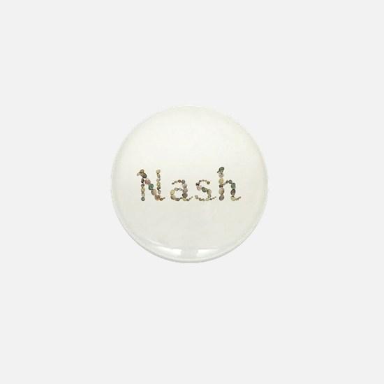 Nash Seashells Mini Button
