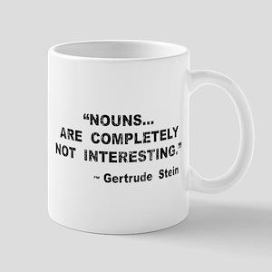 Nouns Not Interesting Mug