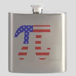 American Pi Flask