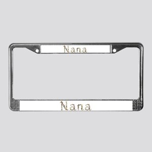 Nana Seashells License Plate Frame