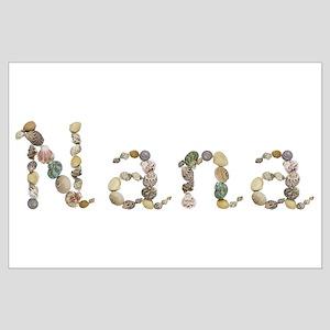 Nana Seashells Large Poster