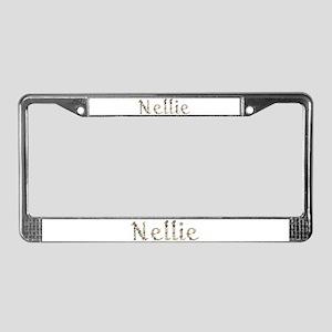 Nellie Seashells License Plate Frame