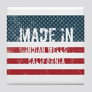 Made in Indian Wells, California Tile Coaster