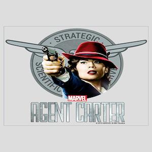 Agent Carter SSR Wall Art