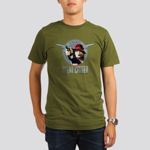 Agent Carter SSR Organic Men's T-Shirt (dark)