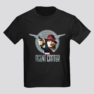 Agent Carter SSR Kids Dark T-Shirt