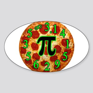 Pizza Pi Sticker