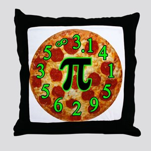 Pizza Pi Throw Pillow