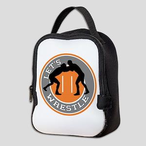 Let's Wrestle Neoprene Lunch Bag