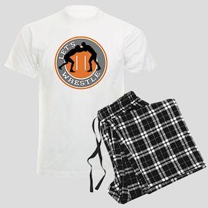 Let's Wrestle Men's Light Pajamas