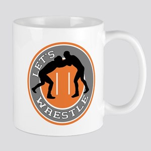 Let's Wrestle Mug