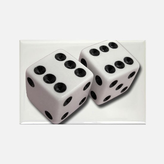 Lucky Dice Magnets