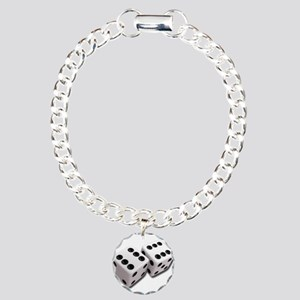 Lucky Dice Charm Bracelet, One Charm