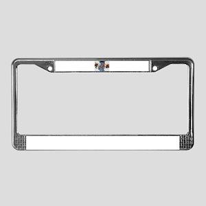 EBOLA ON STEROIDS License Plate Frame