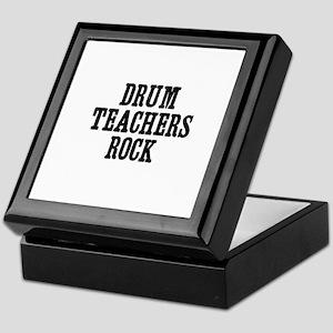 drum teachers rock Keepsake Box