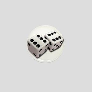 Lucky Dice Mini Button