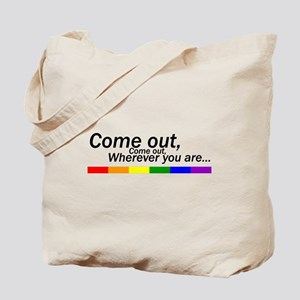 Come Out Tote Bag