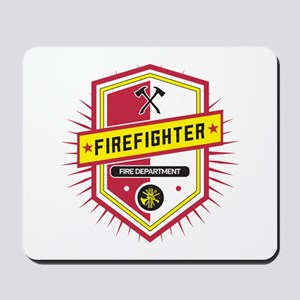 Firefighters Crest Mousepad