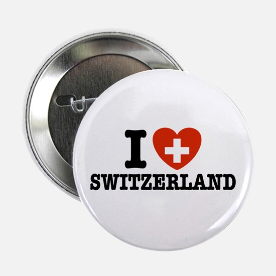 I Love Switzerland Button
