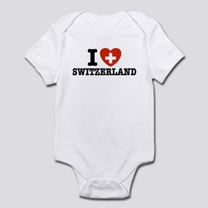 I Love Switzerland Infant Bodysuit