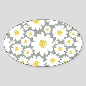 Daisy Flower Sticker