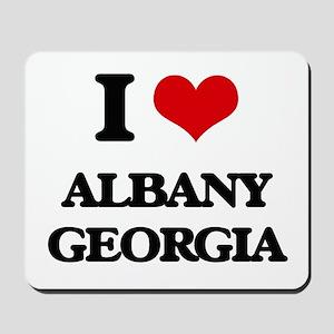 I love Albany Georgia Mousepad