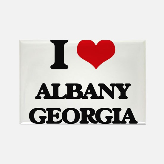 I love Albany Georgia Magnets