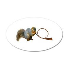 Squirrel Horn Wall Decal