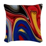 Native American Celebration Woven Throw Pillow