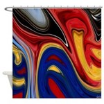 Native American Celebration Shower Curtain