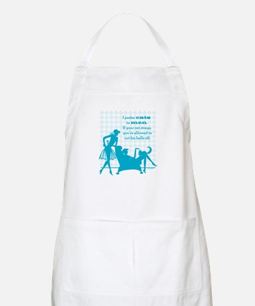 Why Cats are Better than Men BBQ Apron