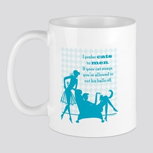 Why Cats are Better than Men Mug