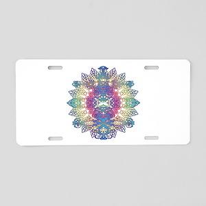 Mantra Aluminum License Plate
