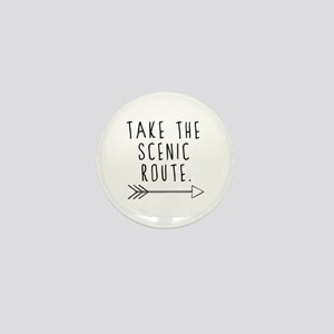 Scenic Route Mini Button