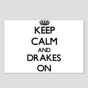 Keep Calm and Drakes ON Postcards (Package of 8)