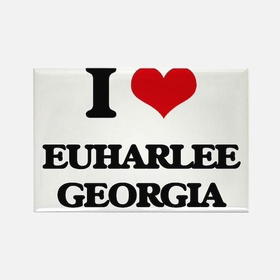 I love Euharlee Georgia Magnets